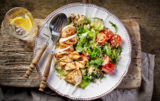 a balanced diet and meal planning