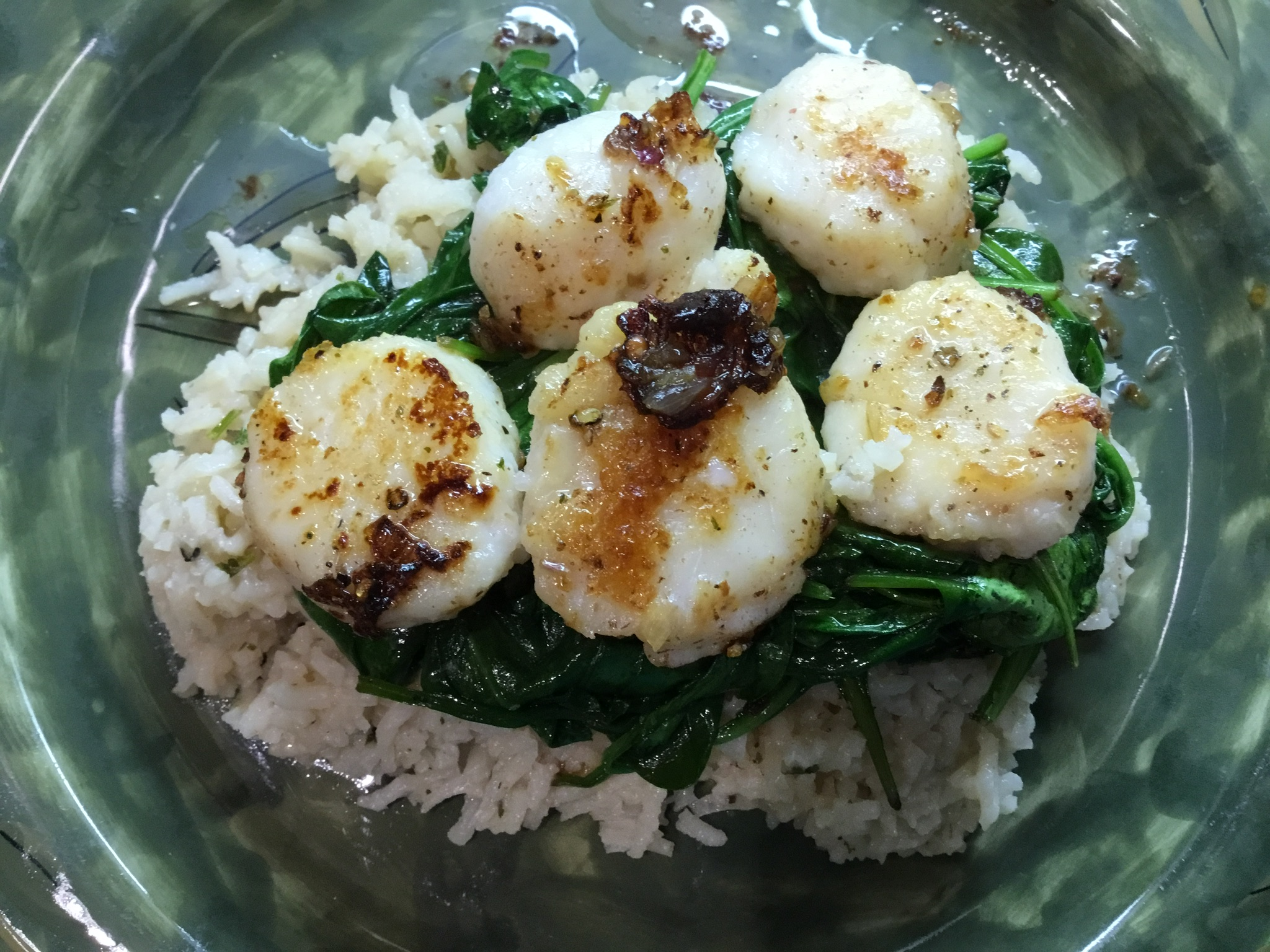 successful weight loss programs include scallops