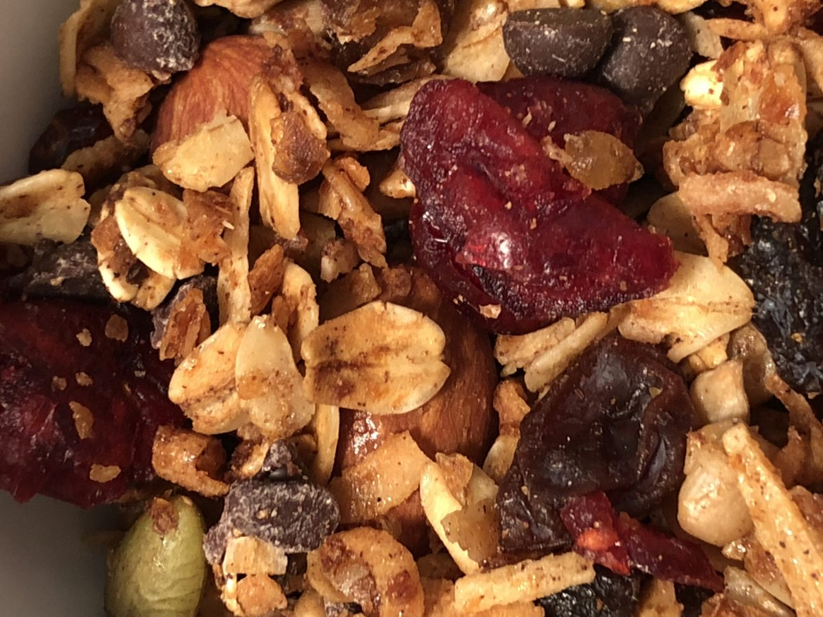weight control tip healthy granola
