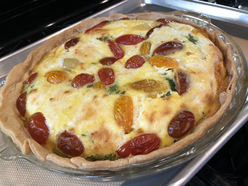 healthy meal plans lighter quiche recipe