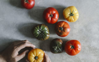a healthy balanced diet tomatoes