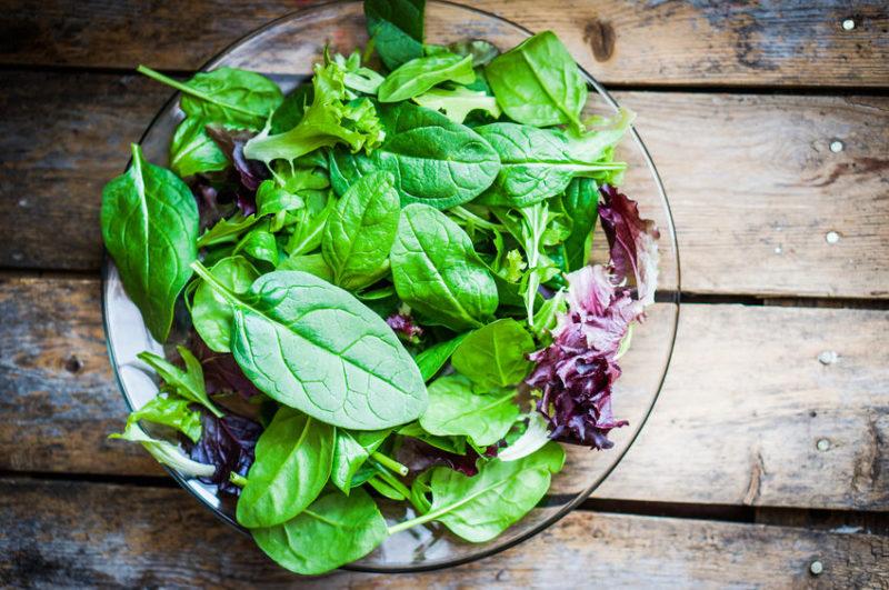 healthy breakfast salad