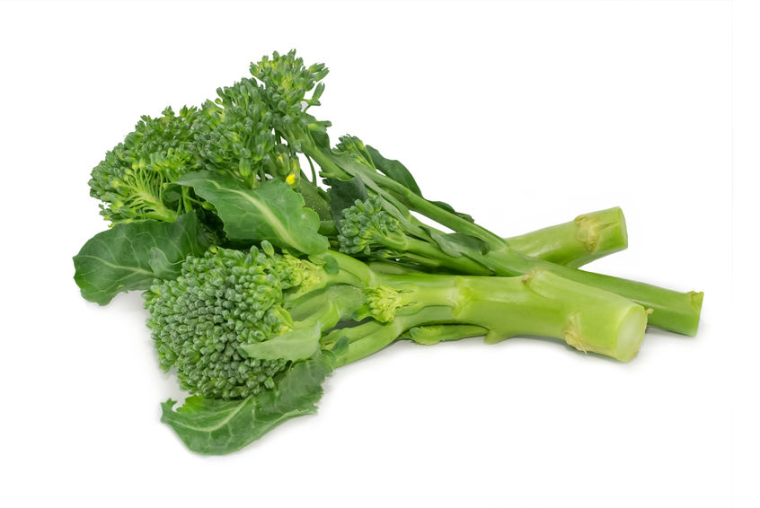 a well balanced diet broccoli rabe